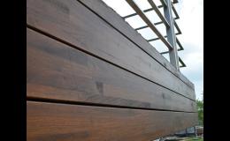 Dřevěné fasády od společnosti Wood Cité, s.r.o. mají dlouhou životnost a skvělé vlastnosti