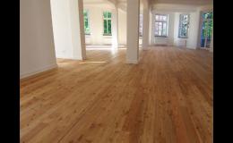 Podlahové palubky realizuje společnost Wood Cité, s.r.o.