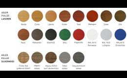 Vyberte si ze široké škály odstínů dřevěných palubek, které nabízí společnost Wood Cité, s.r.o.