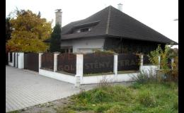 Kvalitní dřevěné ploty a stěny pro Váš dům