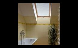 Interiérová žaluzie na střešní okna, ISOTRA a.s. Opava