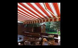 Markýza - letní restaurace, ISOTRA a.s., Opava