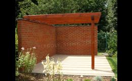 Kvalitní dřevěná garážová stání různých typů