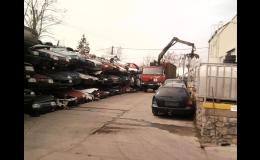 Každé vozidlo určené k ekologické likvidaci Vám zdarma odveze společnost IB - MET s.r.o