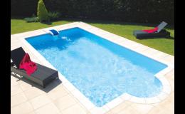 Bazén s bezpotrubní sedlovou filtrací Desjoyaux