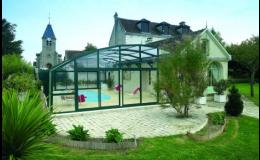 Podchozí bazénové zastřešení Desjoyaux