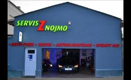 Kompletní opravárenské a servisní služby, Pneu a auto servis Znojmo