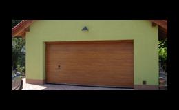 Garážová vrata ATECH Bohemia mají styl a dají pocit bezpečí