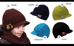 Dětské pletené čepice, PLETEX s.r.o.