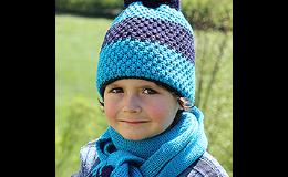 Dětská pletená čepice, PLETEX s.r.o.