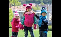 Pletené čepice a šály pro děti, PLETEX s.r.o.