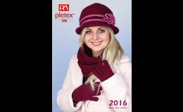 Pletené čepice, šály, nákrčníky, rukavice, PLETEX s.r.o.
