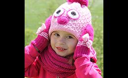 Pletené rukavice pro děti, PLETEX s.r.o.