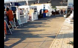 Mobilní pokrytí ploch na stadionech či výstavištích