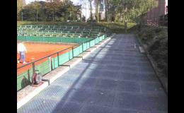 PVC panely pro dočasné zpevnění či ochranu travnatých ploch