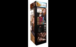 Delikomat nápojový automat na kávu, kakao, latté