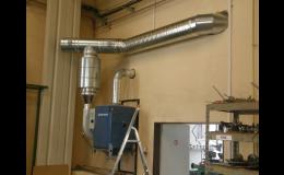 Kvalitní vzduchotechnika pro zajištění výměny vzduchu