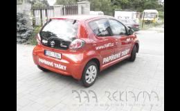 Výroba a instalace polepů osobních vozidel