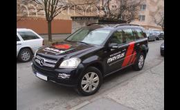 Reklamní polepy všech typů vozidel