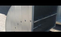 Potrubí vzduchotechnické - hranaté, GIOMETAL s.r.o.