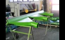 Výroba lehkých konstrukcí, GIOMETAL, s.r.o.