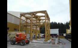 Výroba a montáž ocelové konstrukce a technologie  Sedlecký Kaolín