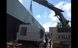 MONTEMA Otrokovice - přeprava CNC stroje