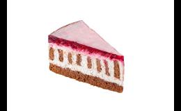 Tvarohovo-malinový dort, Pekárna IVANKA s.r.o. Moravský Krumlov