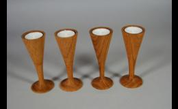 Grappino svícny ze dřeva, DIKADESIGN s.r.o., Znojmo
