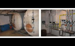 Výstavba a rekonstrukce kotelen, Prometheus, energetické služby, a.s., člen koncernu Pražská plynárenská, a.s.