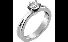 Prsten z chirurgické oceli se zirkonem, Zlatnictví Ivančice u Brna