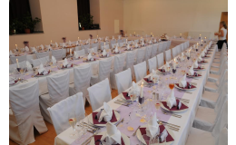 Svatební hostiny, oslavy, bankety, rauty, Telč, Vysočina