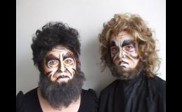 Tvorba makeupu a paruk pod vedením zkušených lektorů