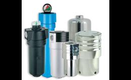 Kompletní sortiment tlakových hydraulických filtrů od C-FILTER FILTRY, s.r.o.
