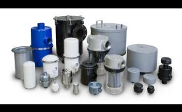 Vzduchové filtry pro průmyslovou filtraci a úpravu stlačeného vzduchu