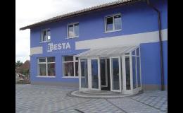 Areál firmy Besta - Berný s.r.o. v Milíčevsi
