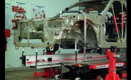 Shark měřicí systém pro diagnostiku karosérií u havarovaných vozidel