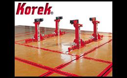 Rovnací podlahové rámy Korek