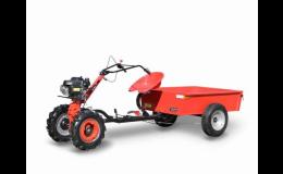 Malotraktory Vari pro zahrádkáře i farmáře