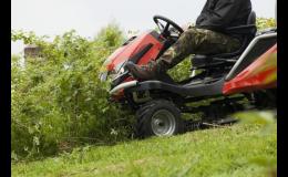 Profesionální traktor od SECO GROUP si poradí i se zanedbanými náletovými plochami