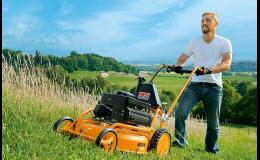 AS MOTOR - mulčovače pro údržbu trávníku bez nutnosti řešit travní odpad