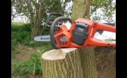 Kvalitní záruční a pozáruční servis, opravy zahradní i lesní techniky