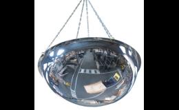 Průmyslová bezpečnostní zrcadla do obchodů, vstupních hal i průmyslových provozů