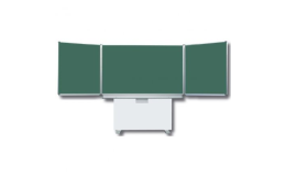 Křídlové i pojízdné tabule, flipcharty a další vybavení školních tříd i poslucháren