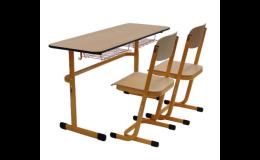 Školní i předškolní židle, lavice a žákovské soupravy