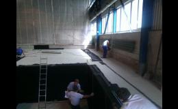 Výstavba od liberecké firmy HAVAX, skvěle sehraný tým odborníků