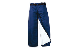 Kalhoty s protipořezovou ochranou a další ochranné pomůcky i oděvy