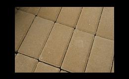Betonová zámková dlažba hnědá - betonárna v Jindřichově Hradci