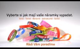 Silikonové náramky s potiskem - www.silikonovenaramky.com