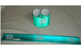 Rolovací silikonové náramky v různých barvách jako reklamní předměty